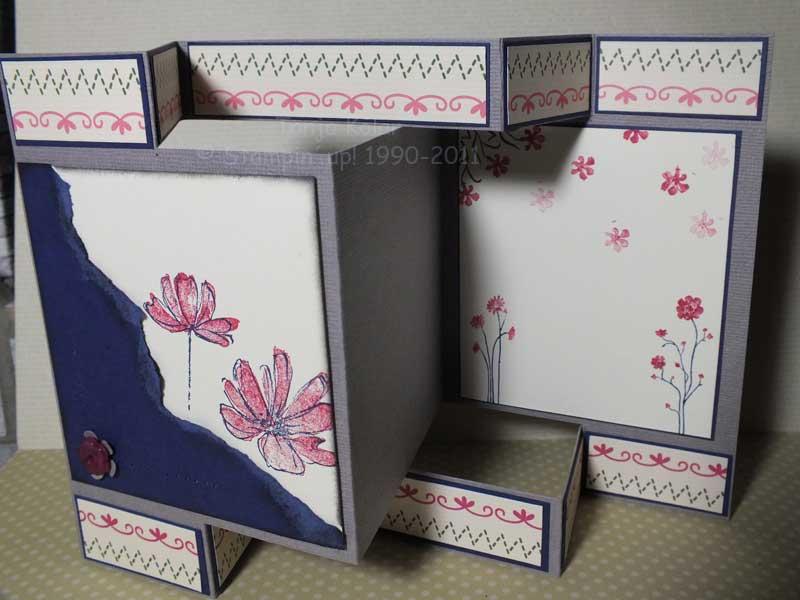 Tri shutter card karte selber basteln kreativ mit tanja for Karten basteln vorlagen