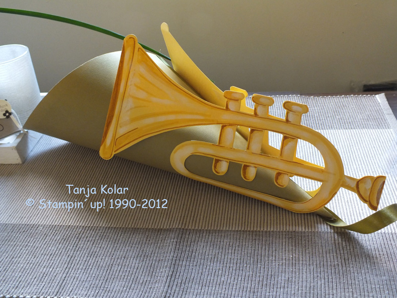 Trompete Basteln Aus Papier Dansenfeesten