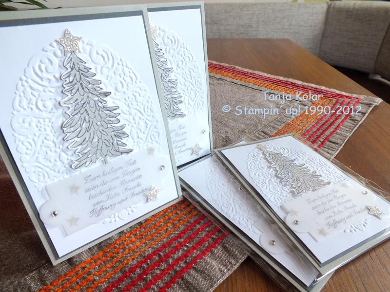 weihnachtskarten basteln kreativ mit tanja workshops kreativkurse und shop f r stempel. Black Bedroom Furniture Sets. Home Design Ideas