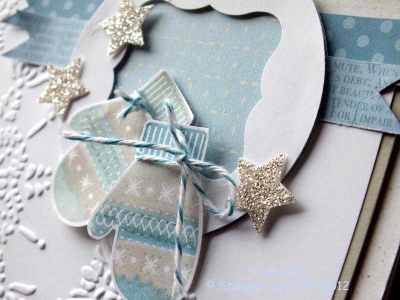 Stempelinspiration f r weihnachtskarten kreativ mit for Weihnachtskarten kreativ