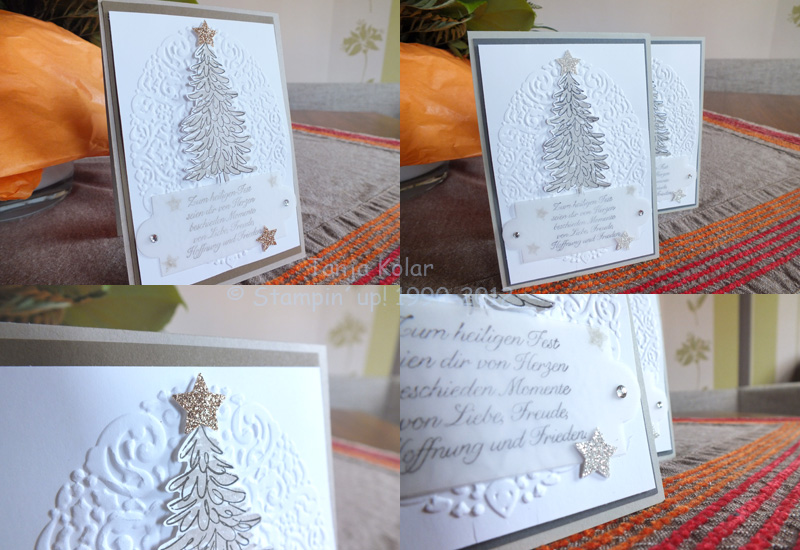 Weihnachtskarten basteln kreativ mit tanja workshops - Weihnachtskarten kreativ ...